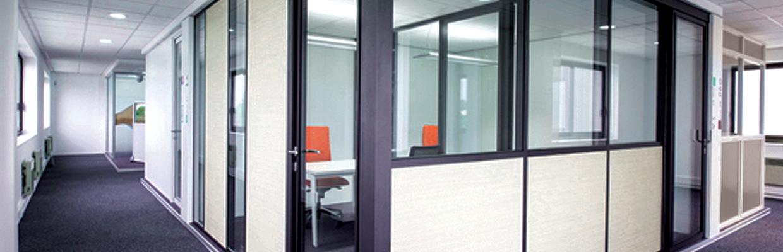 Illustration isolation acoustique pour espaces de bureaux - Home Eos